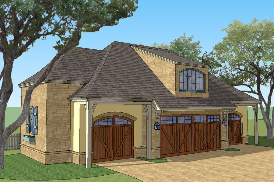 New South Classics Carriage House 4 Car