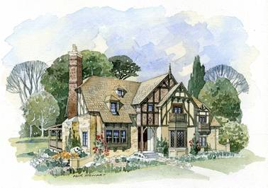 Weobley Cottage2 English Cottage House Plan