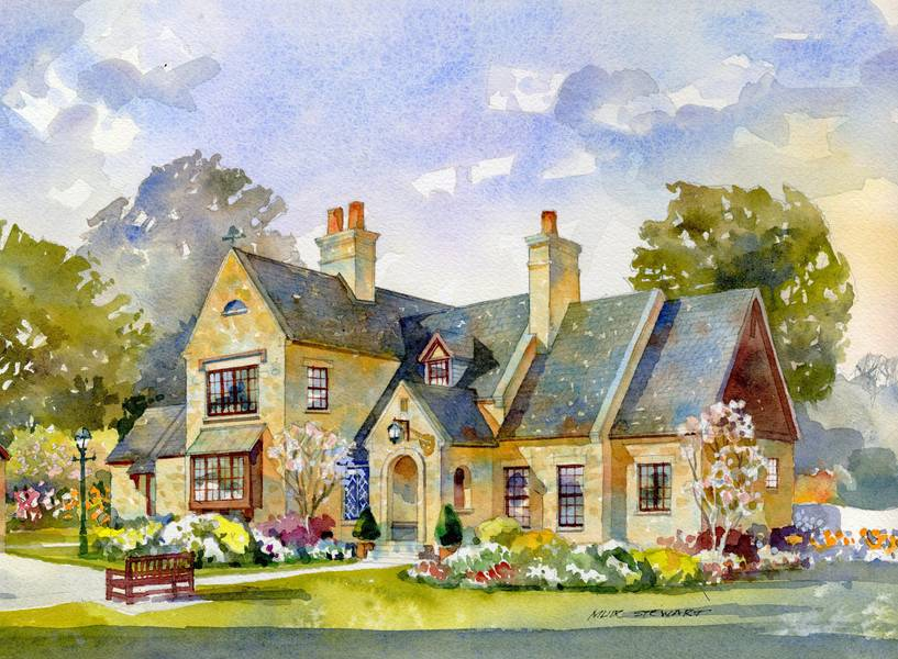 the willows a cotswold classic typical english cottage charm - English Cottage House Plans