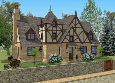 Millstone English Country Cottage House Plan