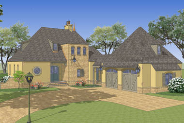 Le Fleur French Country House Plan