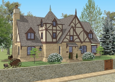 New south classics new plans for Cotswold cottage house plans