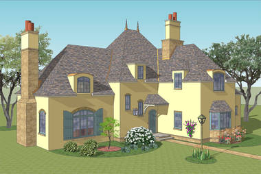 Chez Moi French Country House Plan