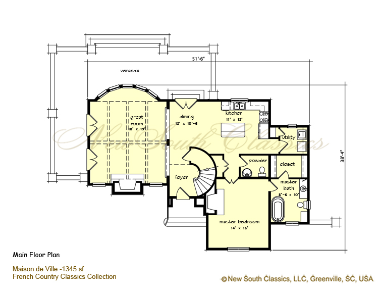 Floor plans of storybook homes house plans home designs for Storybook cottage plans
