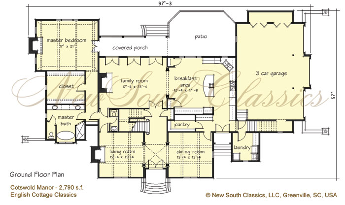 English cotswold cottage house plans for English country manor house plans