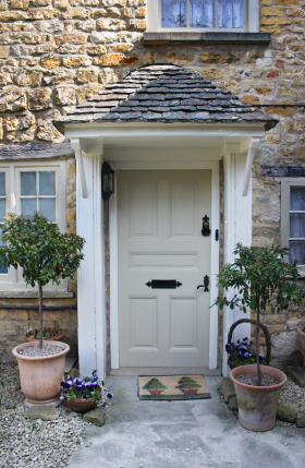 New south classics english cottage classics for Country cottage exterior doors