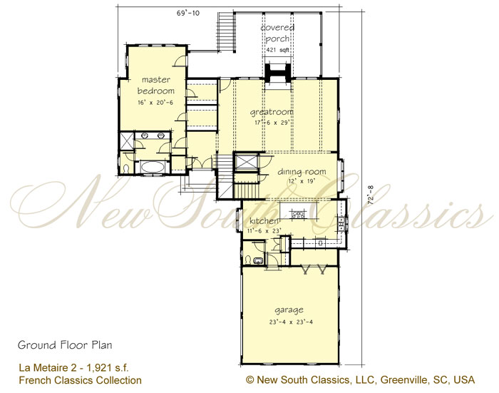 Ground Floor Elevation With Staircase : Ground floor plan and second elevation in pakistan